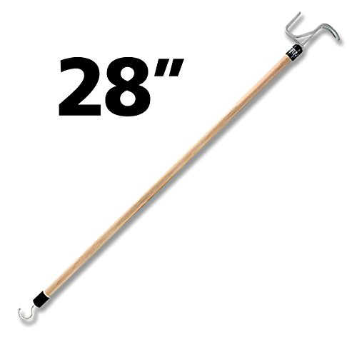 RMS Deluxe 28'' Long Dressing Stick | Ideal Dressing Aid for Shoes, Socks, Shirts and Pants) by RMS Royal Medical Solutions, Inc.