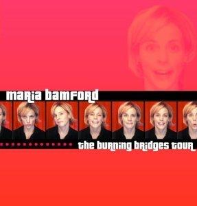 Maria Bamford Burning Bridges Tour