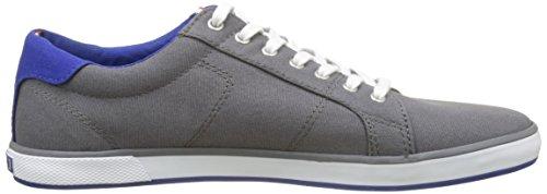 Tommy Hilfiger H2285arlow 1d, Zapatillas para Hombre Gris (Steel Grey)