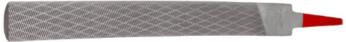 Simonds Hand File, American Pattern, Chip Breaking, Half-Round, Coarse, 10