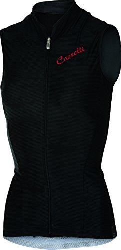 (Castelli Womens Bellissima Sleeveless Cycling Jersey - A15066 (Black -)