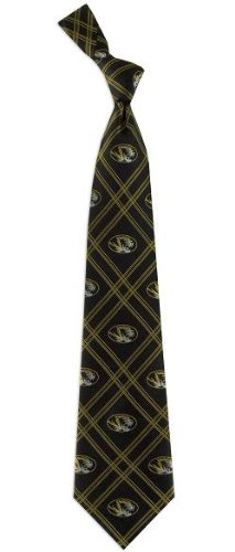 Missouri Tigers Woven Polyester 2 Adult Tie from Eagles (Tigers Woven Polyester Tie)
