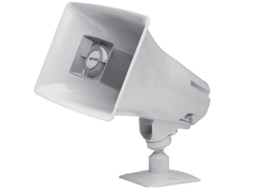 Va One-way 15-watt Amplified Horn Gray