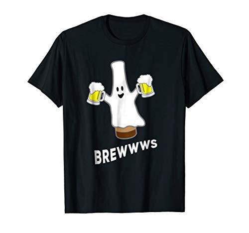 (Funny Halloween Beer Bottle Mug Pub Crawl Ghost)