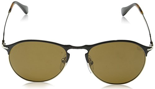 Black Persol PO7649S Polarbrown Sonnenbrille Gold Negro ZUgZBSpYcq