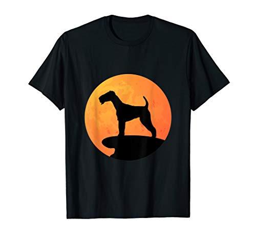 Terrier Halloween Costume Dog Owner Gift Moon T-Shirt ()