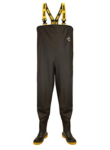 Vass 350E Lightweight PVC Chest Waders Carp Game Trout Salmon Pike Fishing Boots