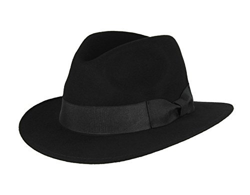 Pinched Front Fedora Hat