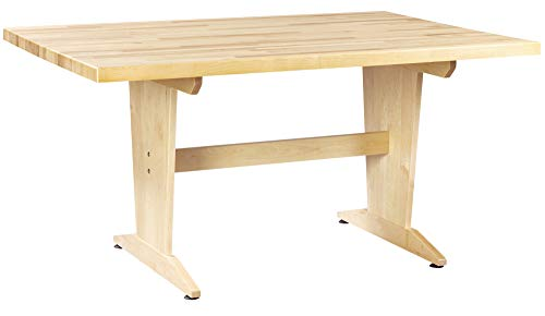 Diversified Woodcraft PT-62M Solid Maple Wood Art/Planning Table with Maple Wood Top, 60