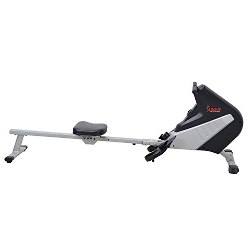 Sunny Health & Fitness SF RW5634 Magnetic Rowing Machine Rower w/ LCD Monitor