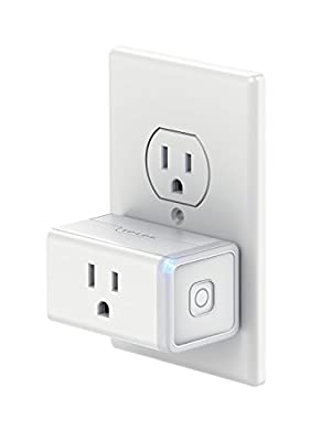 TP-Link Smart Plug Mini, No Hub Required, Wi-Fi, Works with Alexa and Google Assistant, Control your Devices from Anywhere, Occupies Only One Socket (HS105) (Certified Refurbished)