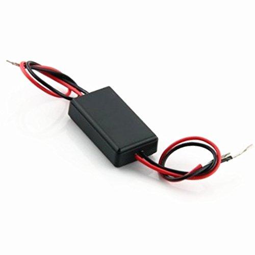 Qiorange Flash Strobe Controller Flasher Module for LED Brake Tail Stop Light 12-16V