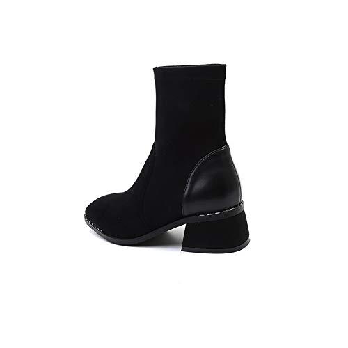 Noir Sandales Abm12783 Compensées Balamasa Femme W4w71gqnv