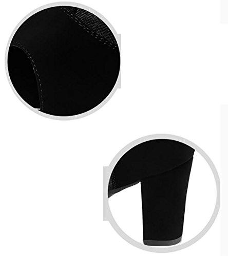 Coreani Alto Tacco Con Col Alla Piatti 35 Romani Moda Estive Fafz A Sandali Selvaggi Dimensioni Scarpe colore A Donna XFSx84n