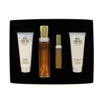 - WHITE DIAMONDS by Elizabeth Taylor Gift Set -- 3.4 oz Eau De Toilette Spray + 3.4 oz Body Wash + 3.4 oz Body Cream...