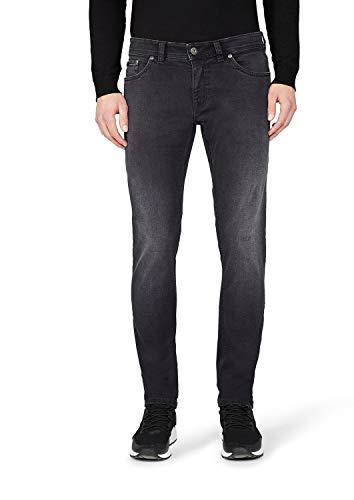 Atelier GARDEUR Sandro Left Hand Twill Jeans Slim, Nero (Nero 199), 36W x 32L Uomo