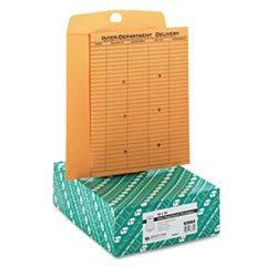 Brown Kraftresealable Redi-Tac Interoffice Envelope, 10 X 13, 100/box By: Quality Park