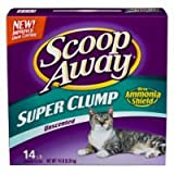 Scoop Away Free Unscented Clumping Cat Litter