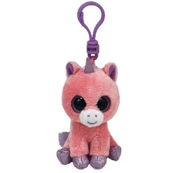 Amazon.com: Magic rosa unicornio clip-on felpa: Office Products