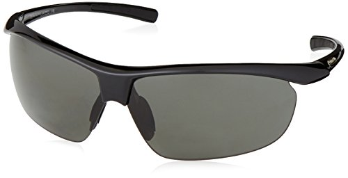 Suncloud Zephyr +2.50 Polarized Reader Sunglasses, Black Frame, Gray Polycarbonate ()
