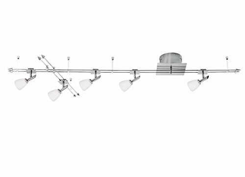 Schienensystem Deckenleuchte F.L.I. by Fischer Leuchten 210225 Deckenlampe 5x 35 Watt GY6.35