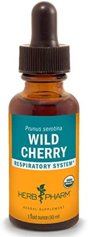 Herb Pharm Certified Organic Wild Cherry Bark Liquid Extract