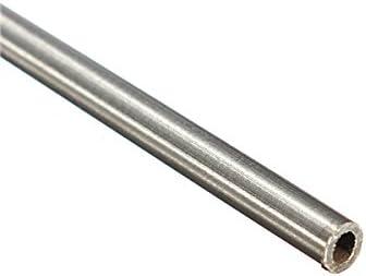 CHENXI Shop 4/St/ück OD 4,5/mm x 4/mm ID Edelstahl Rohr 304/Edelstahl Kapillarrohr L/änge 250/mm