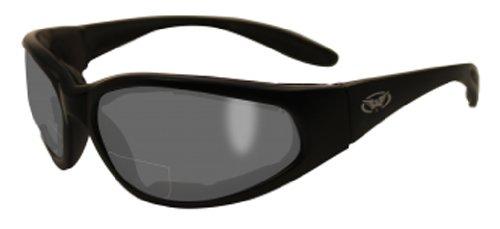 Global Vision Eyewear Hercules Bifocal 1.5 Magnification Anti-Fog Safety Glasses with EVA Foam, Smoke - Sunglasses Bifocal Safety
