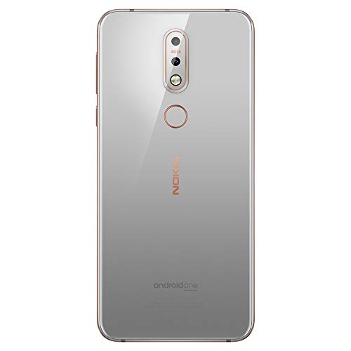 Nokia 7.1 - Android 9.0 Pie - 64 GB - Dual Camera - Dual SIM Unlocked Smartphone (Verizon/AT&T/T-Mobile/MetroPCS/Cricket/H2O) - 5.84 FHD+ HDR Screen - Steel - U.S. Warranty