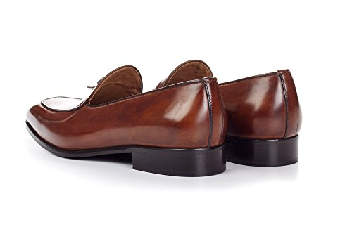 Paul Evans The Van Damme Belgian Loafer - Marrone Marrone FxM5zdICn