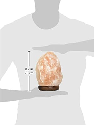 Accentuations by Manhattan Comfort Therapeutic Shaped Himalayan Salt Lamp