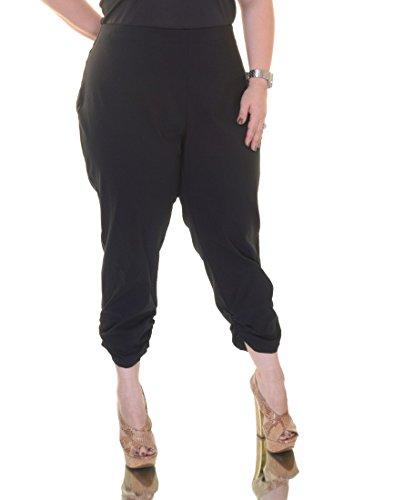 Hem Cropped Pants (Style & Co. Ruched Hem Cropped Capri Pants,Size)