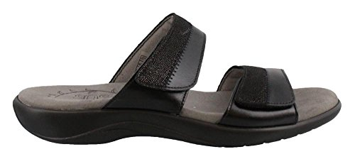 SAS Women's, Nudu Slide Sandals Black 10 W by SAS