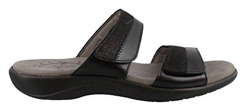 SAS Women's, Nudu Slide Sandals Black 9 M by SAS