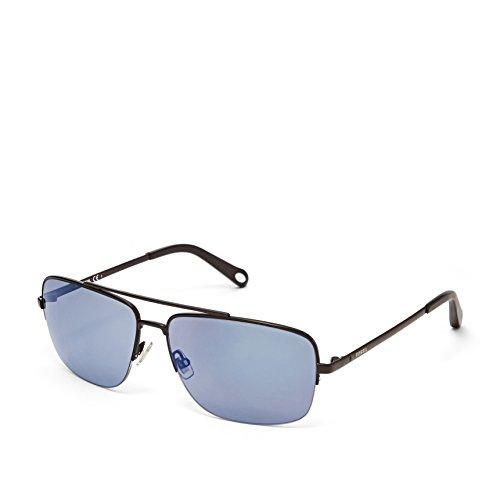Fossil Fos3034s 0003 Delafield Navigator Sunglasses - Black
