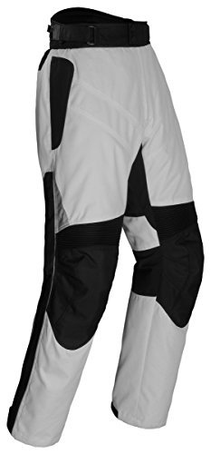 Tourmaster Mens Venture Silver/Black Pants - X-Large