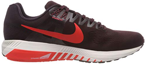 Nike Bright Burgundy Uomo 600 21 Crimson Zoom Running Structure Air Ash Scarpe Rot TqrvTgw