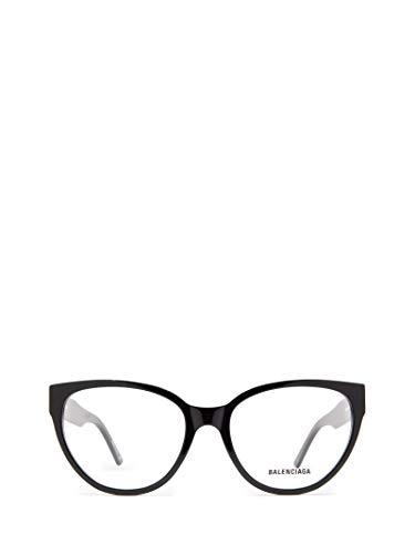 Luxury Fashion | Balenciaga Woman BB0064O001 Black Acetate Glasses | Season Permanent