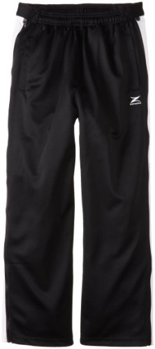 Lakers Warm Up Pants (Los Angeles Lakers NBA Team Panel Pant With Zipway Shell (Black/White, X-Large))