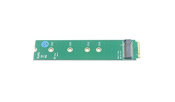 Addon Card shentek E Key to M Key M.2 Card M.2 SSD NGFF PCI Express Card Adapter Card Suport PCIe