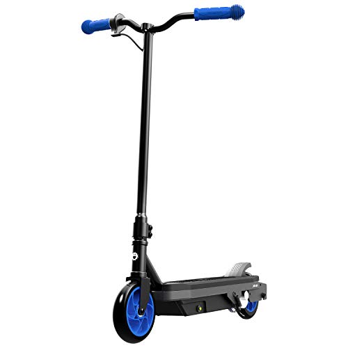 Jetson Tempo Electric Scooter, Kick to Start Motor, with Twist Throttle and Rear Foot Electric Brake, for Kids & Teens
