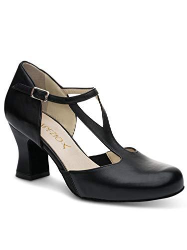 Black Nappa Suede Footwear - Capezio 2.5