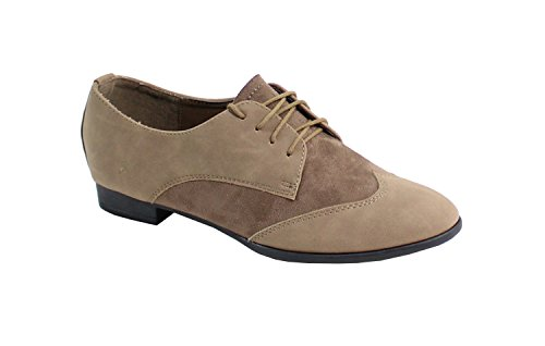 By Shoes - Mocasines Mujer Taupe