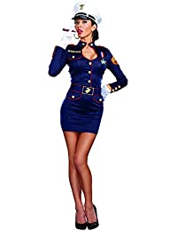 Women's Take Charge Marge Military Captain Costume