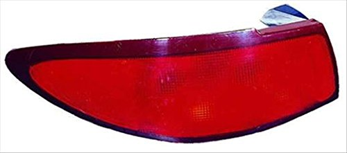 Partslink Number FO2800161 Multiple Manufacturers OE Replacement Ford Escort Driver Side Taillight Assembly