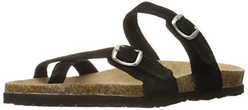 (Northside Women's Anya Sandal, Black, 8 B(M) US)