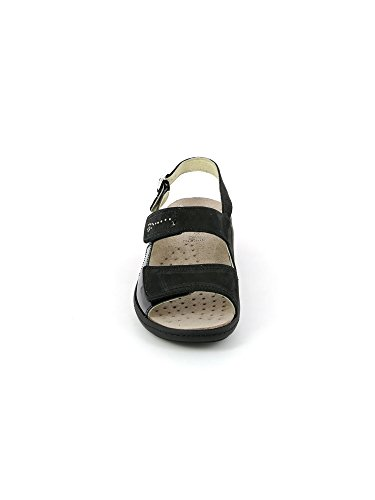 Grunland SE0156 Esta Sandalo Donna P. Nero 38 YuChGmE6