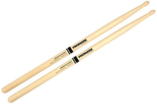 Promark Select Balance Rebound Balance Drum Sticks, Wood Tip, .595