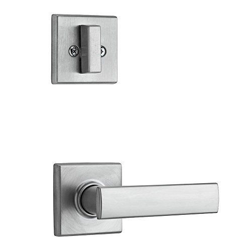 Kwikset 974VDL SQT 26D Vedani Single Cylinder Interior Pack for Contemporary Handlesets, Satin (26d Satin Chrome Single)