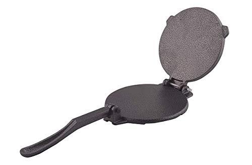 Tortilla Press, Cast Iron, ARC USA, Press surface diameter, Heavy Duty, Even Pressing -Black, 6.5